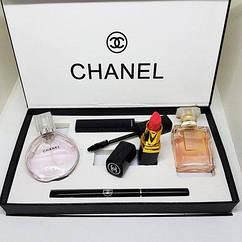 Подарочный набор Chanel 5 в 1: подарок для настоящей леди