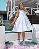 Платье сарафан летнее свободное без рукава лен, фото 5