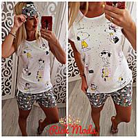 Пижама летняя женская в Украине. Сравнить цены bea078165443b