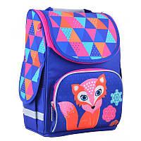 Ранец (рюкзак) - каркасный школьный для девочки - Лиса (лисичка), PG-11 Fox, Smart 554505