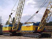 Краны гусеничные МКГ-25БР Киев в аренду.