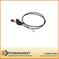 Кабель дистанционного управления включения КОМ (трос с рычагом) Hyva