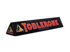 Шоколад Toblerone (Тоблерон) Черный 100 г