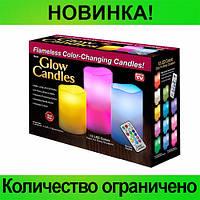 Ночник 3 свечи Luma Candles Color Changing!Розница и Опт