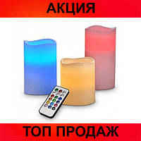 Ночник 3 свечи Luma Candles Color Changing!Хит цена