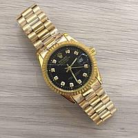 Часы мужские ROLEX - Datejust Quartz, цвет корпуса и браслета золотистый