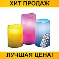 Ночник 3 свечи Luma Candles Color Changing