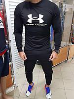 Спортивный мужской костюм Under Armour без капюшона (Топ качество)
