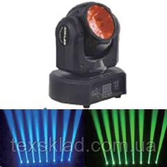 Вращающаяся BEAM светодионая голова  FAST BEAM 60W RGBW