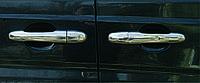 Накладки на ручки Mercedes Vito W639 (3шт.)