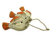 Сувенир Рыбы связка 3 шт дерево