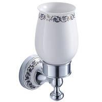 Керамический стакан для зубных щеток Apollo KEA-16504CH