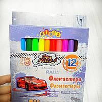 """Фломастеры 12цветов """"Crazy Race"""""""