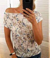 Красивая женская футболка вискоза арт 2