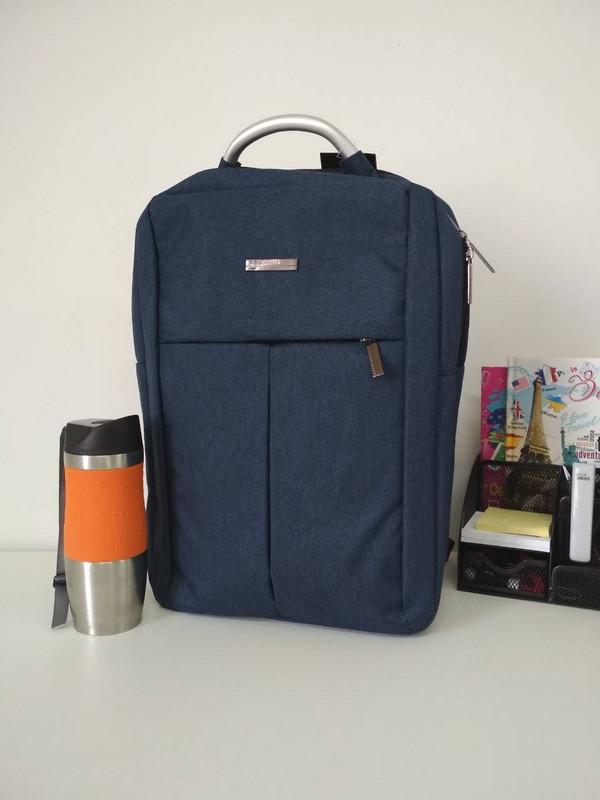 Текстильний підлітковий рюкзак для школи 40*30*18 см