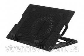 Подставка для ноутбука с охлаждением ErgoStand черный
