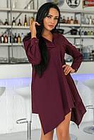 Стильное  платье - рубашка   (42-52)