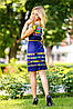 Летнее цветное платье с тонким поясом (0941-0939-0940-0942 svt), фото 5