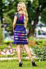 Летнее цветное платье с тонким поясом (0941-0939-0940-0942 svt), фото 4