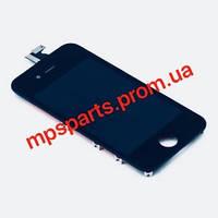 Оригинальный модульный дисплей на айфон 4S (Белый/Черный). Дисплей iPhone 4S черный LCD экран, тачскрин
