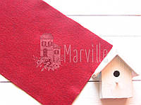 Фетр американский мягкий  Багровый (2205 Barnyard Red), фото 1