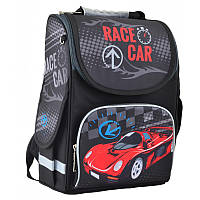 Ранец (рюкзак) - каркасный школьныйдля мальчика - Гоночная машина, PG-11 Race car, 554513