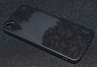 Чехол iPhone 5G прозрачный (Айфон 5, чехол-накладка, бампер, защита для телефонов, кейс )