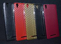 Чехол силиконовый Aelion I5, мотив кожи, черный   (Аелион и5, чехол-книжка, бампер, кейс, защита телефона)