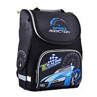 Ранец (рюкзак) - каркасный школьныйдля мальчика - Скорость Гоночная машина, PG-11 Speed Addiction, 554529