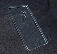 Чехол Xiaomi Mi Mix 2 прозрачный ультра(Ксиоми Ми Макс, чехол-накладка, бампер, защита для телефонов, кейс )
