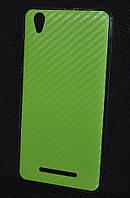 Чехол силиконовый Aelion I5,карбон салат  (Аелион и5, чехол-панель, бампер, кейс, защита телефона, накладка)
