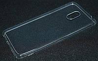 Чехол силиконовый Meizu M6, прозрачный ультра (Мейзу М6, чехол-накладка, бампер, защита для телефонов, кейс )