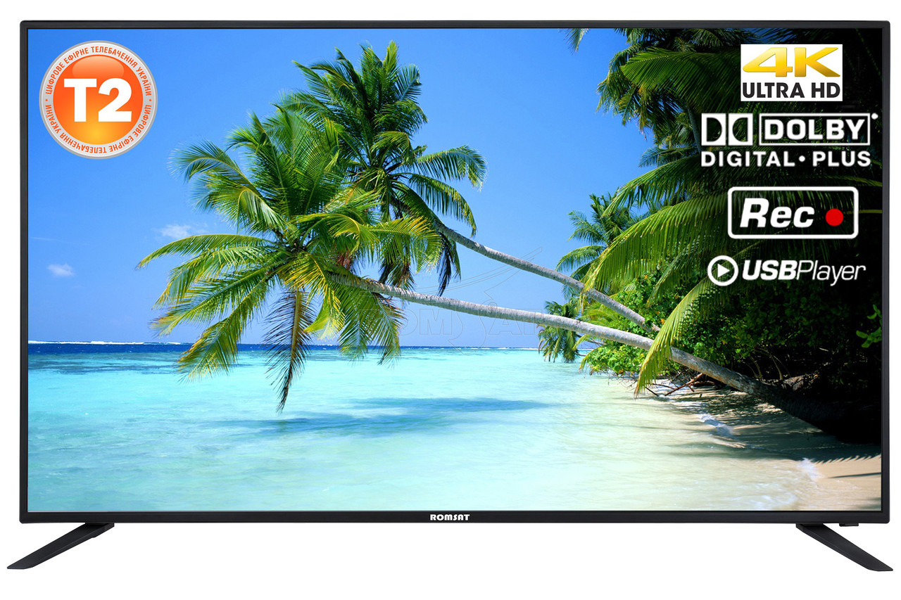 Телевизор 4K Romsat 49UMC1720T2