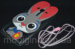 Чехол силиконовый Samsung J700/J7, Rabbit