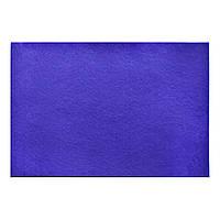 Фетр мягкий, темно-фиолетовый, 21*30см (1 лист)