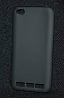 Чехол силиконовый Xiaomi Redmi 5a черный
