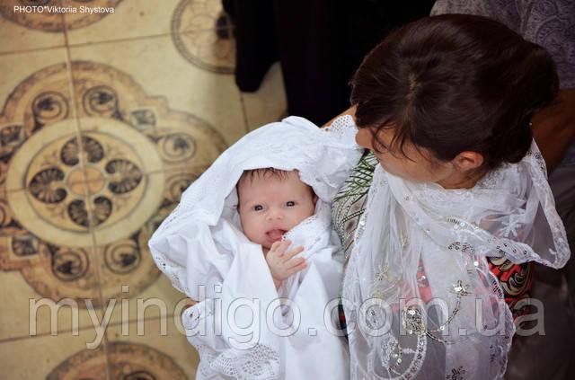 Крещение ребенка зимой