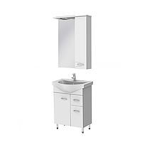 Мини-комплект мебели для ванной комнаты Рио 4-60-ШНЗ1-60R Ювента
