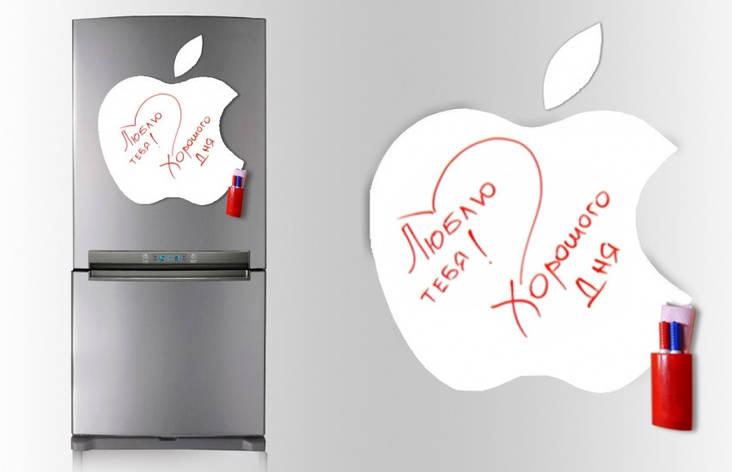 Магнитная доска для маркера Apple 40*43см. , фото 2