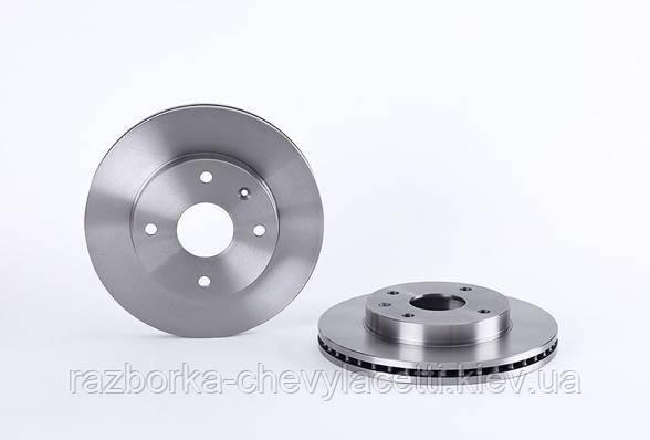 Тормозной диск передний BREMBO для Chevrolet Lacetti