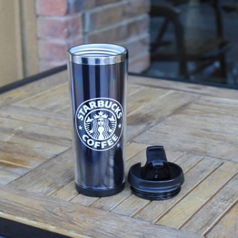 Термокружка Black Starbucks, фото 2