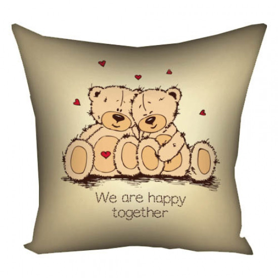 Подушка We are happy together