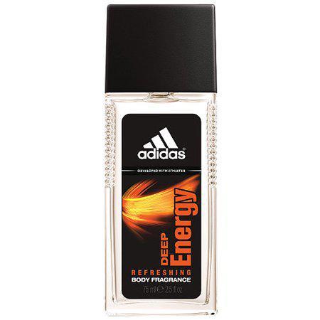 Освіжаючий спрей для тіла  Adidas Deep Energy (75мл.)