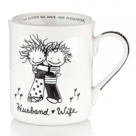 Чашка Муж и Жена, фото 2
