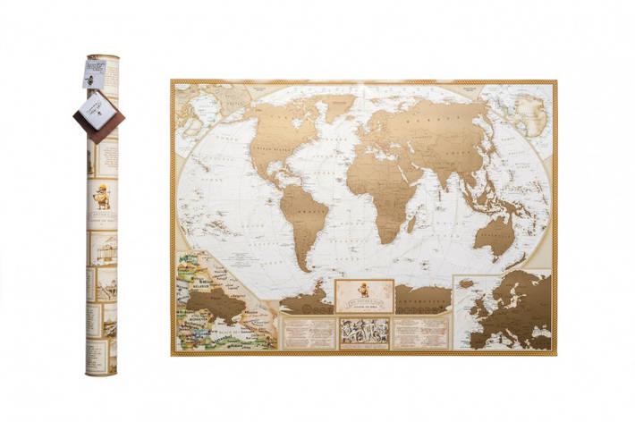Скретч карта мира MyAntiqueMap, фото 2