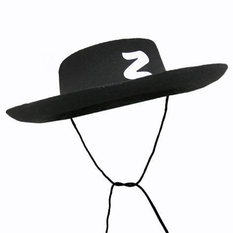 Шляпа Зорро, фото 2
