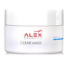 Clear Mask - Маска с солью мертвого моря для жирной , комбинированной кожи, 50 мл