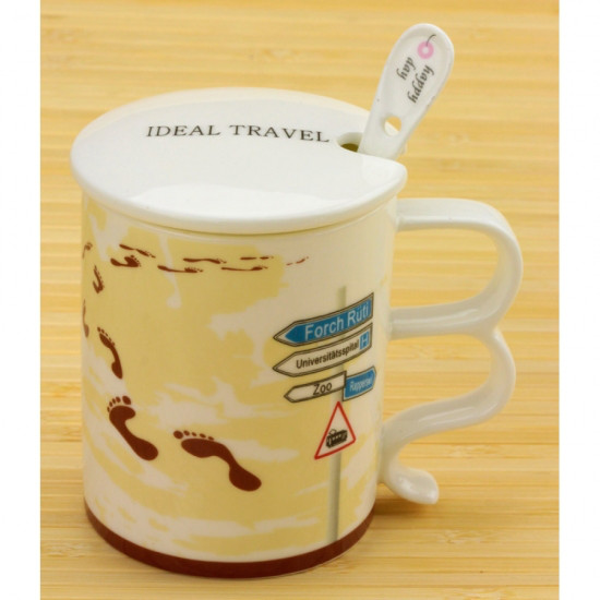 Чашка Ideal travel The jorney footprint