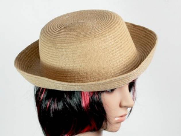 Соломенная шляпа Котелок 27 см коричневый, фото 2