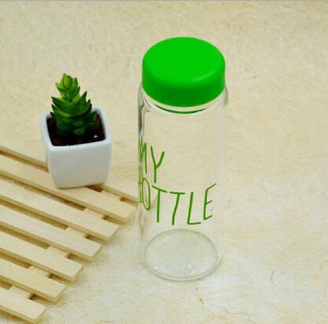 Бутылка My bottle зеленая, фото 2
